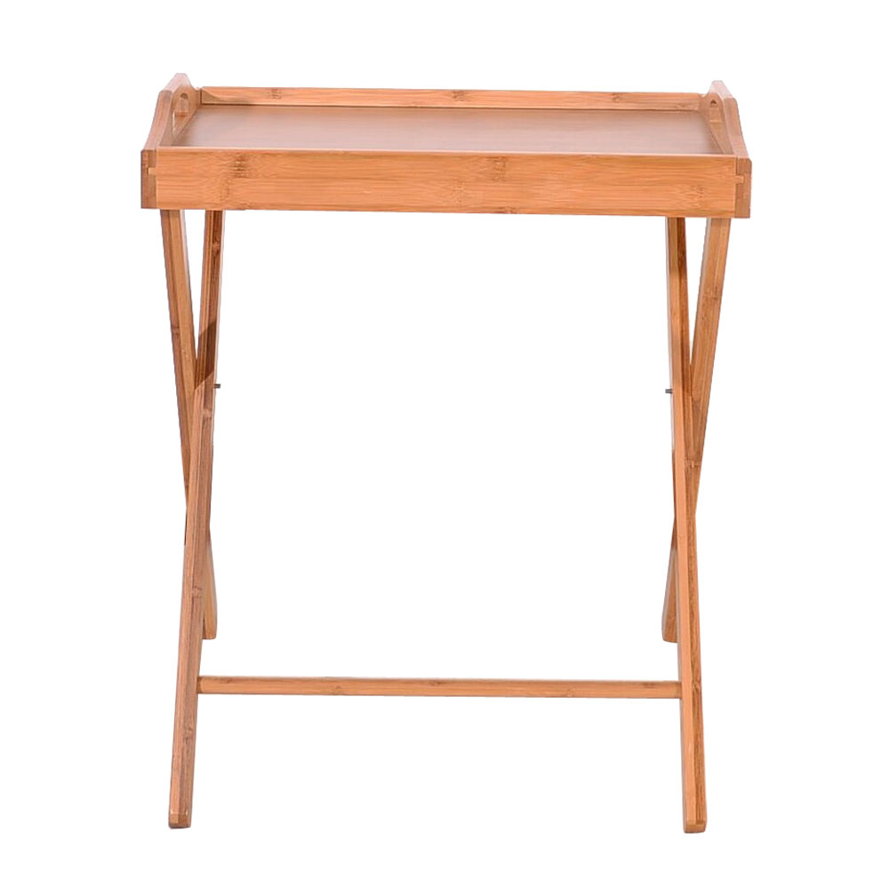 the latest c00a3 a11a9 Details about Wooden Folding Wood TV Tray Dinner Table Coffee Stand Serving  Snack Tea UK Stock