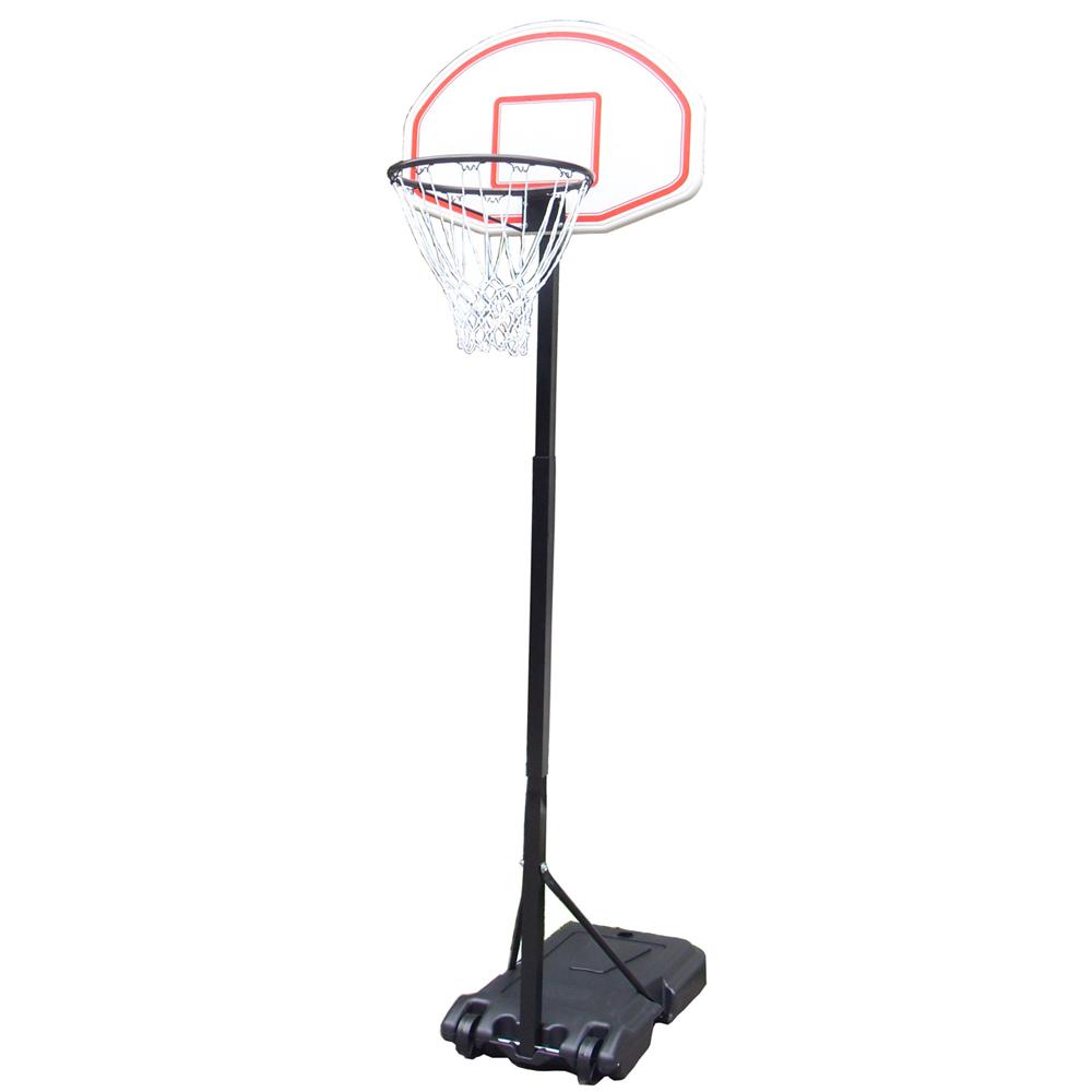 8FT STANDING BASKETBALL NET HOOP BACKBOARD WITH ADJUSTABLE ...